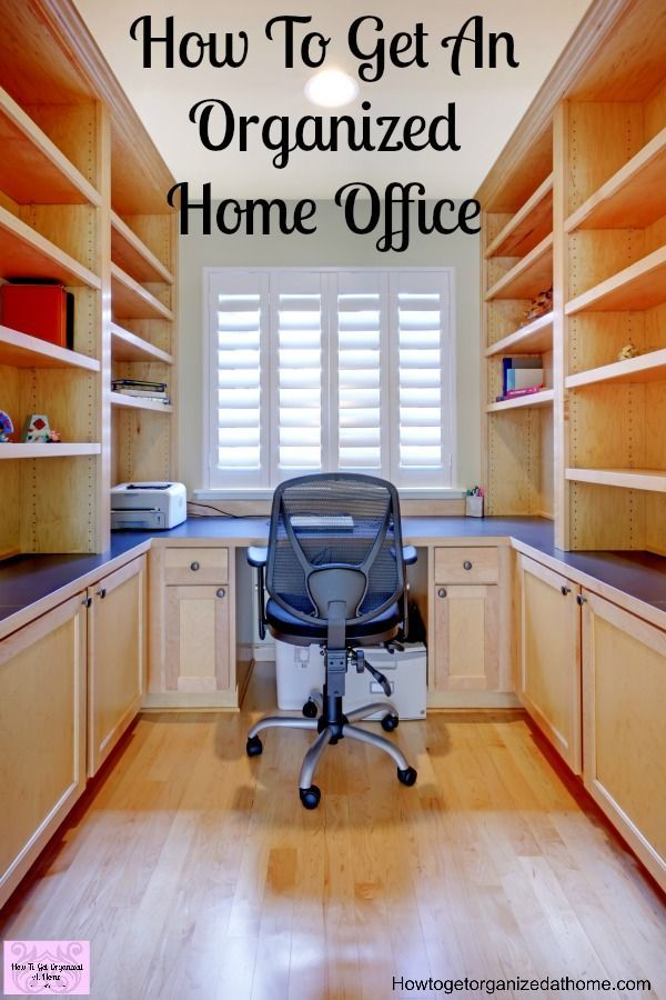 912 best organizing tips images on pinterest organizing for How to organize your home office