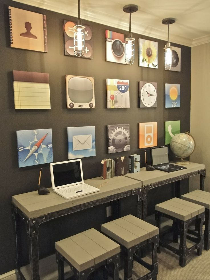 Best 25 computer lab decor ideas on pinterest for Decorating ideas for computer room