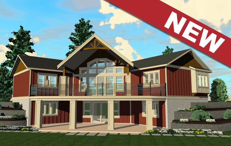 The Athabasca Cottage - Prefabricated Home Plans | Winton Homes