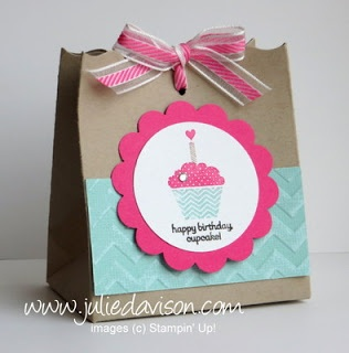 Julie's Stamping Spot -- Stampin' Up! Project Ideas Posted Daily: Patterned Occasions Party Favor Box