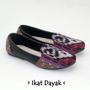The Warna Shoes – Ikat Dayak