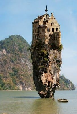 House upon a rock! Dublin, Ireland