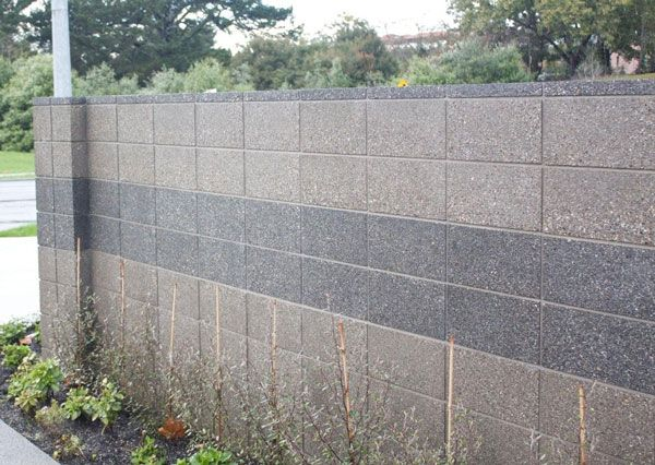 Best Cinder Block Upgrade Images On Pinterest Concrete - Cinder block wall fence ideas