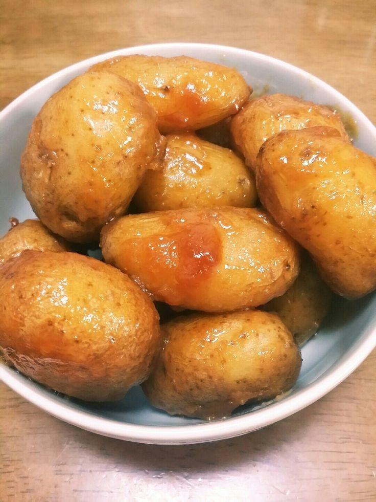 じゃがいもの味噌炒め『味噌かんぷら』 実母(福島県の郷土料理)から教わった、小じゃがいもが出たら毎回(毎年)食べたくなる味♪福島県では[味噌かんぷら]と命名。