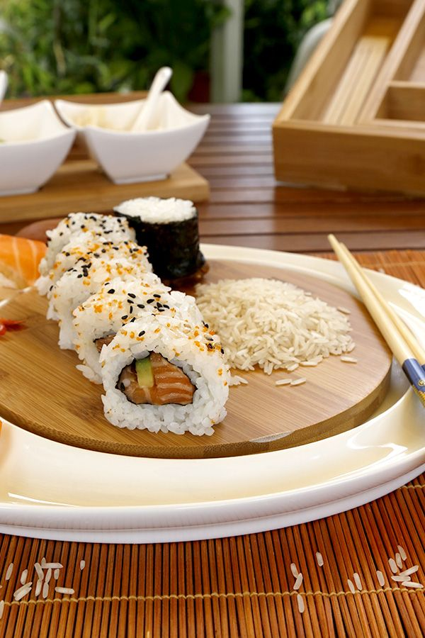 Summer #dinner? #Sushi is a fresh idea for an evening with friends! #Agricola #OrientalScent