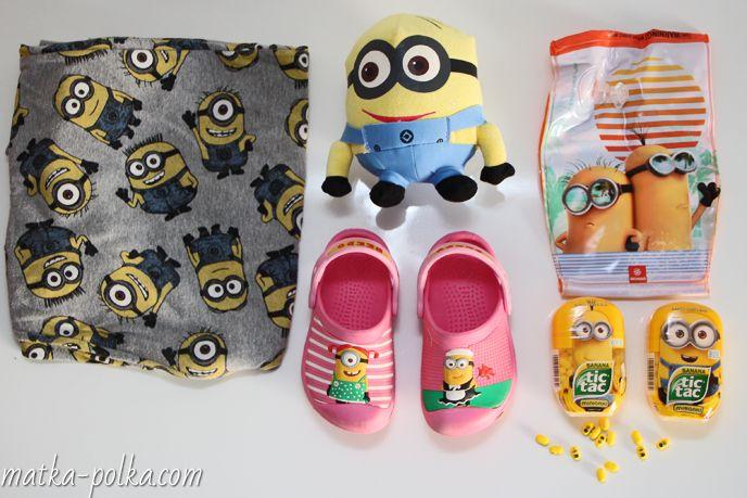 www.matka-polka.com #tictac #ferrero #minionki #minions #discrableme #banana #crocs