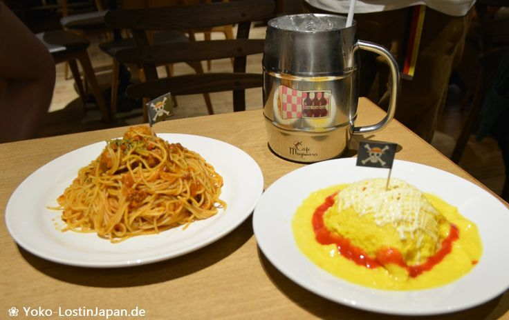 Delicious food at Tokyo One Piece Tower ♥