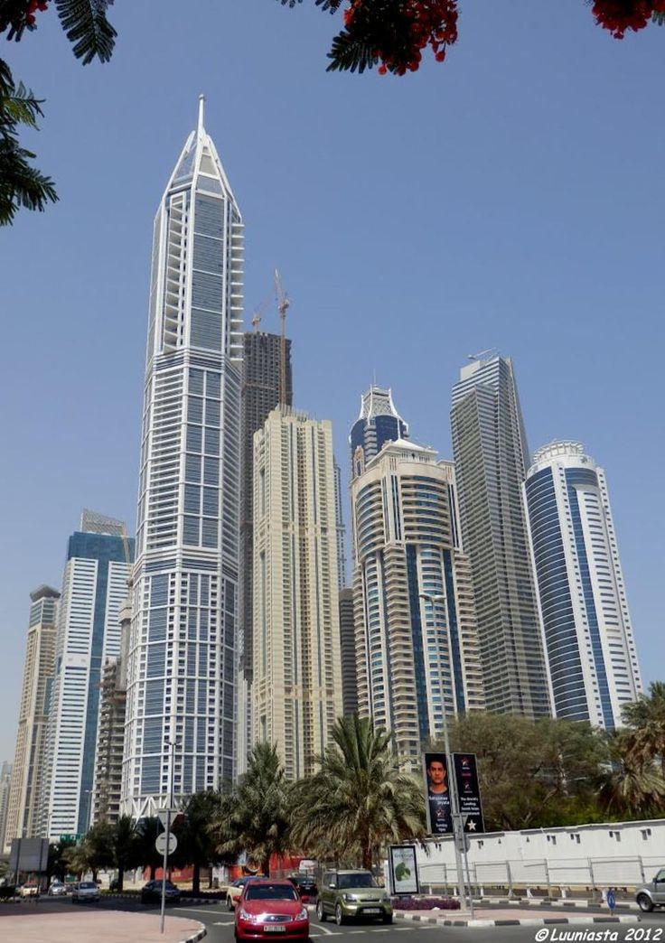 18. 23 Marina (tallest) in Dubai, UAE 1296 ft