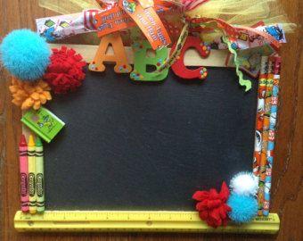 ** School Classroom Chaulkboard  Wreath @DazzlinDoorzbyKristi