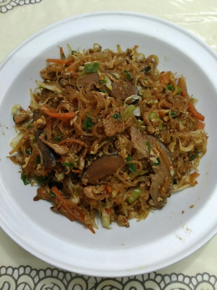 Hot Vermicelli fried
