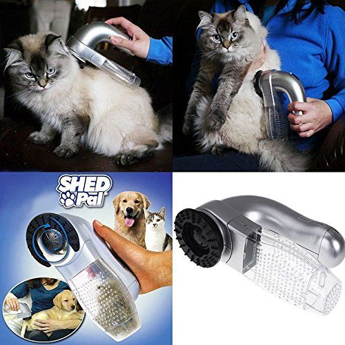 Electric Pet Hair Remover Suction Device For Dog Cat Grooming Vacuum