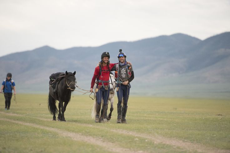 The official standings at the end of Day 8 of the 2015 Mongol Derby