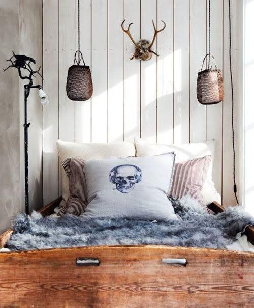 design traveller: Styling inspiration: warm wood