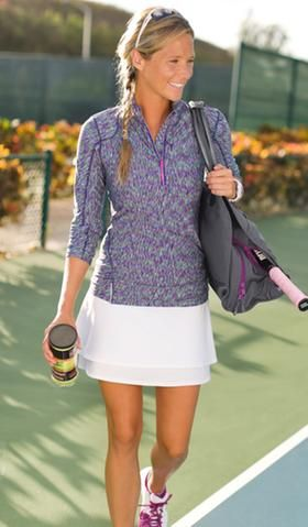 Tops & Sweaters: Outfit Ideas | Athleta-This running style top is the most comfortable fabric. Love it!