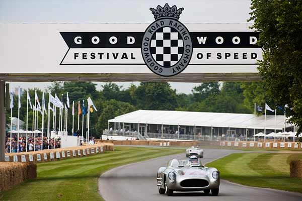 Ex Stirling Moss Mercedes - Goodwood Festival of Speed 2016 - carphile.co.uk