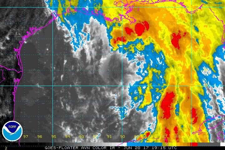 Special catastrophe savings accounts in some states offer tax and disaster recovery relief. (Tropical Storm Cindy 20 June 2017_NOAA-NHC-GOES satellite)