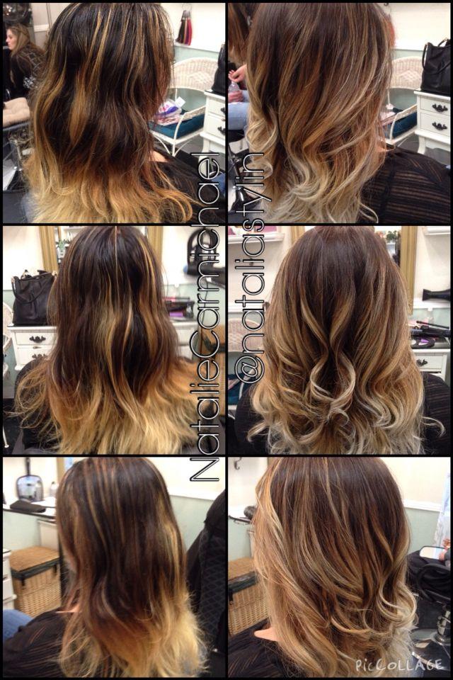Balayage haircolor correction  Before and after