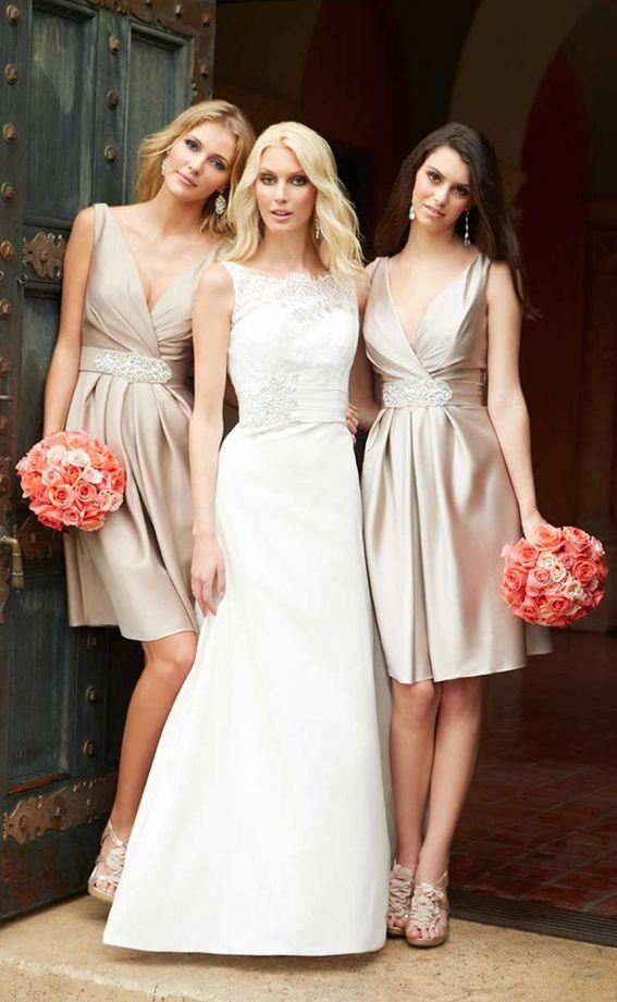 39 best bridesmaid dress images on Pinterest | Brautjungfern ...