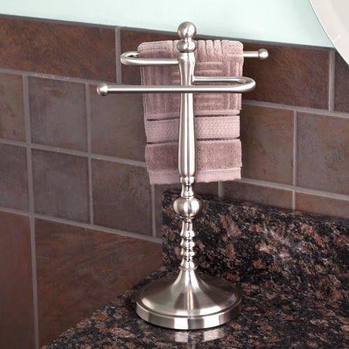 Ridge Shape Countertop Towel Bar