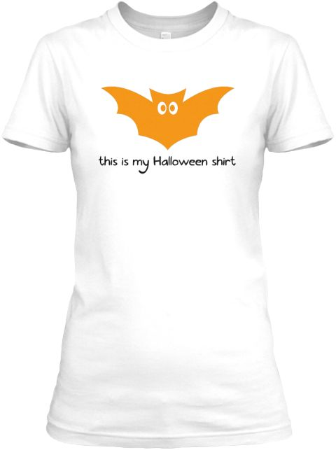 This Is My Halloween T-Shirt Bat. Available for purchase at www.teespring.com/this-is-my-halloween-shirt