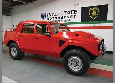 1988 Lamborghini LM002A 4x4