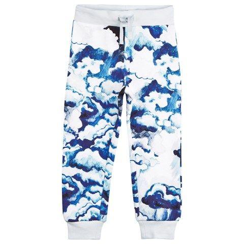 Dark Blue Cloud Sweat Pants