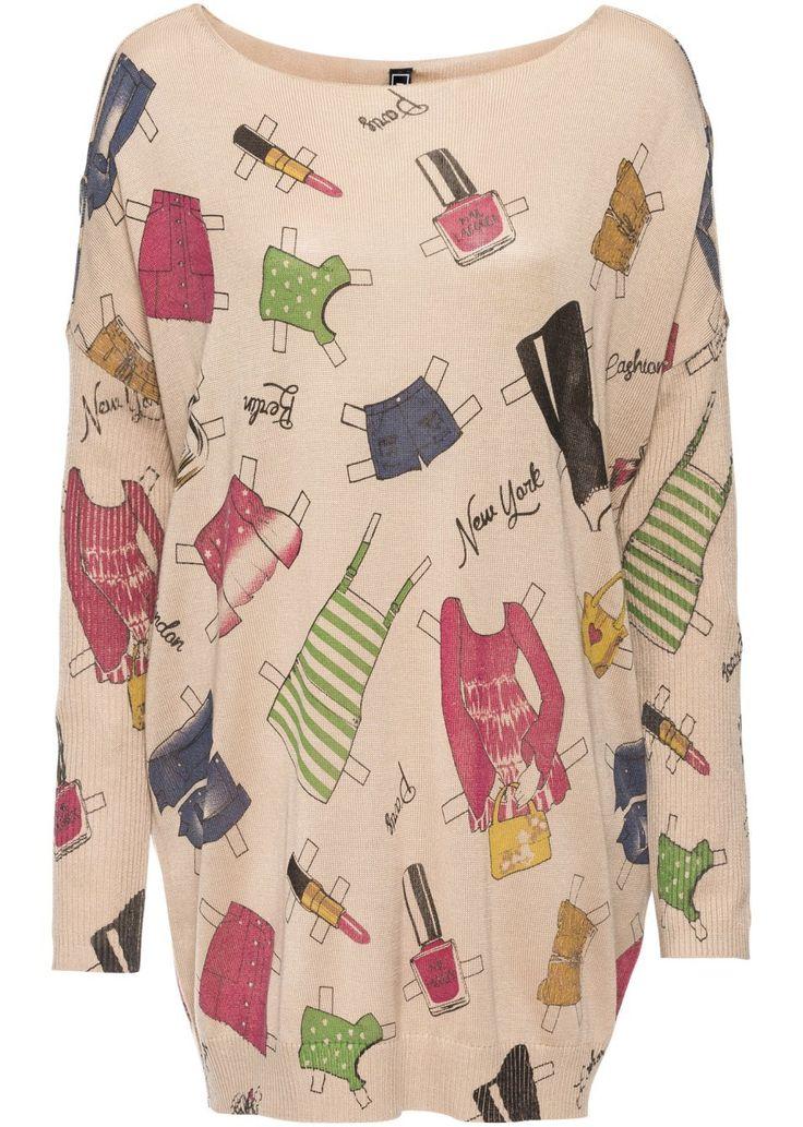 Hosszú pulóver Ideális társ a következő • 9999.0 Ft • bonprix