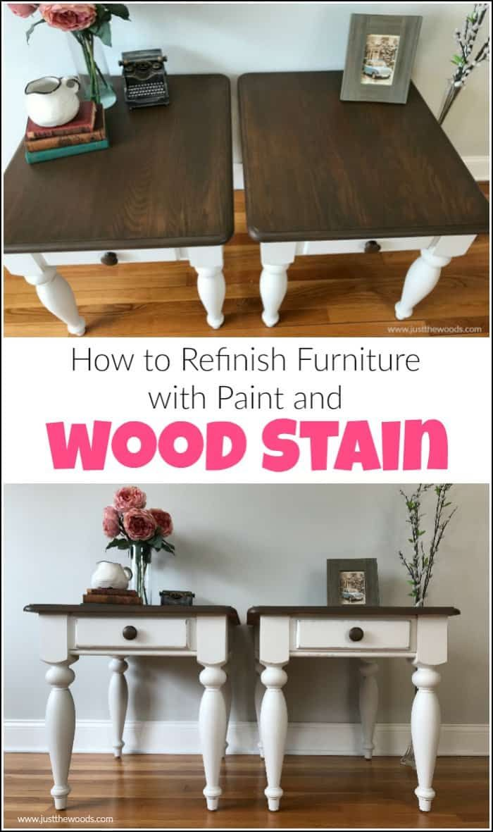 How To Apply Wood Stain For An Amazing Table Refinish Furniture