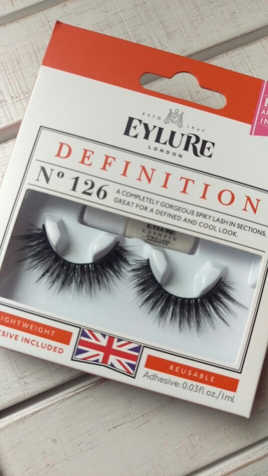 Eylure #126 lashes - love these for a night out!