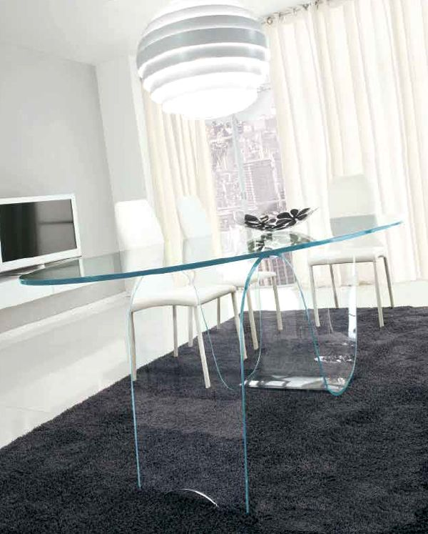 1000+ Images About Waterfall And Bent Glass Tables On