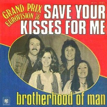 """Brotherhood Of Man """"Save Your Kisses For Me"""" (1976) Eurovision Song Contest Winner for the UK"""