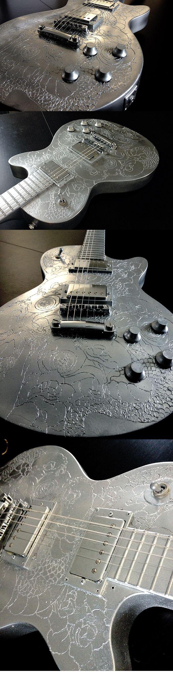 Teasing nouvelle guitare customisée