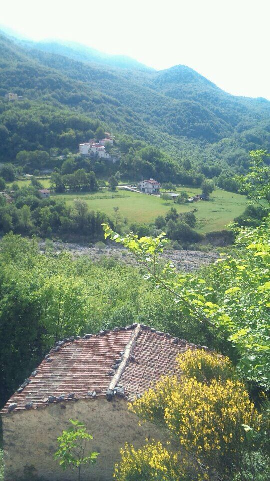 Lovely view from the Casa Bella near Picinisco, #Italy