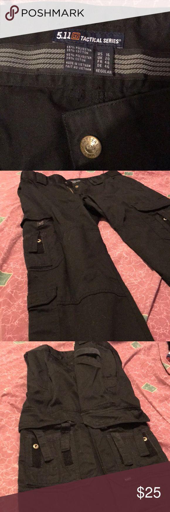 5.11 tactical pants Womans black, size 16, 32 length, EMS, pants 5.11 Tactical Pants