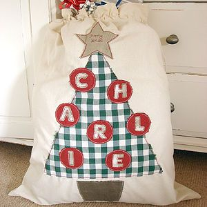 Personalised Santa Sack - stockings & sacks