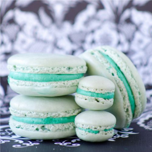 TIFFANY BLUE MACARONS?! I've died and gone to heaven.