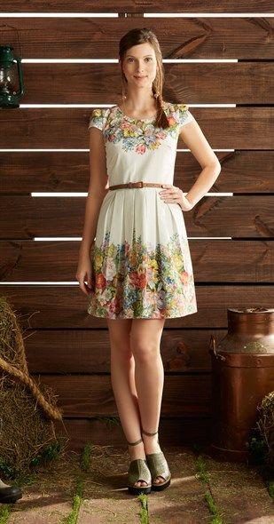 Só na Antix Store você encontra Vestido Botânico com exclusividade na internet