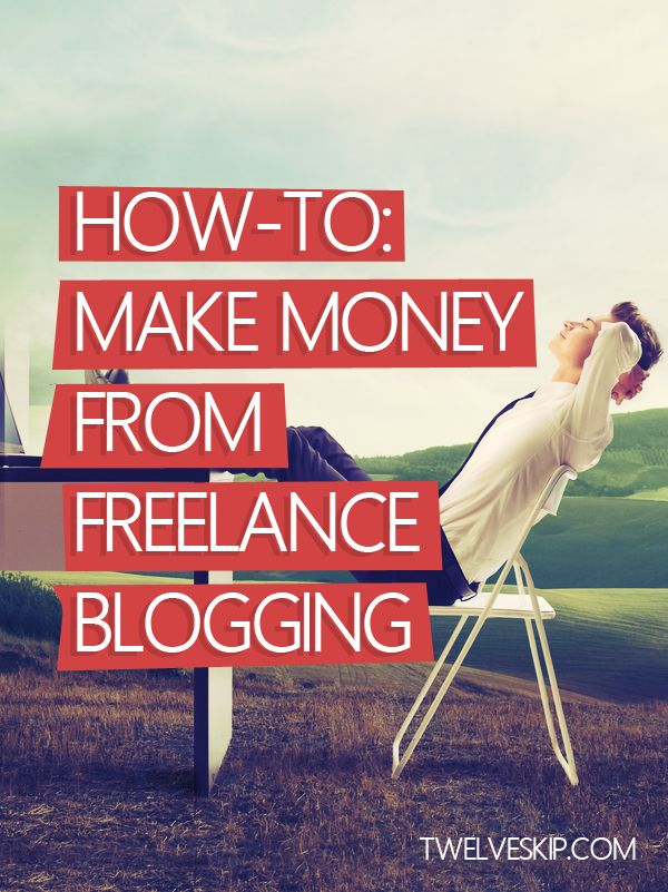 5 Steps To Making Money From Freelance Blogging By The End Of The Month @ http://www.twelveskip.com/guide/blogging/1277/make-money-freelance-blogging