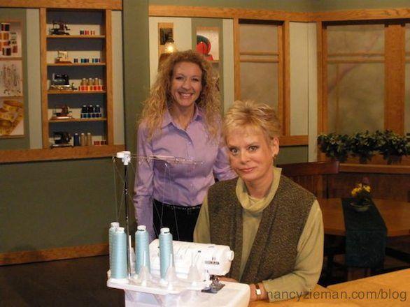 Nancy Zieman/Sewing With Nancy/how to use a serger/serger tips | Nancy Zieman…