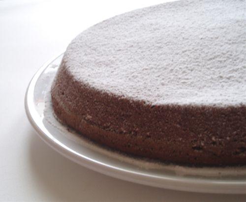 torta paradiso al cioccolato ⭐