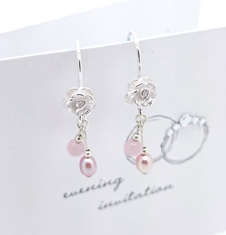 Mother of the Groom? Rose Earrings by Violet Blossom Jewellery