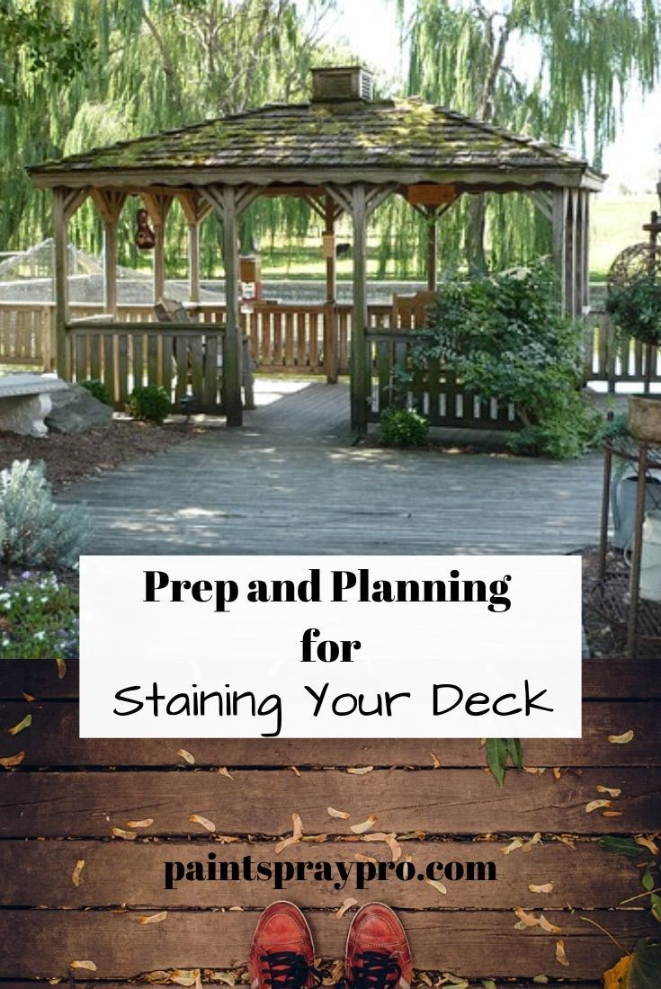 Staining A Deck With A Pump Sprayer All Decked Out In 2020 Staining Deck Deck Stain Sprayer Best Paint Sprayer
