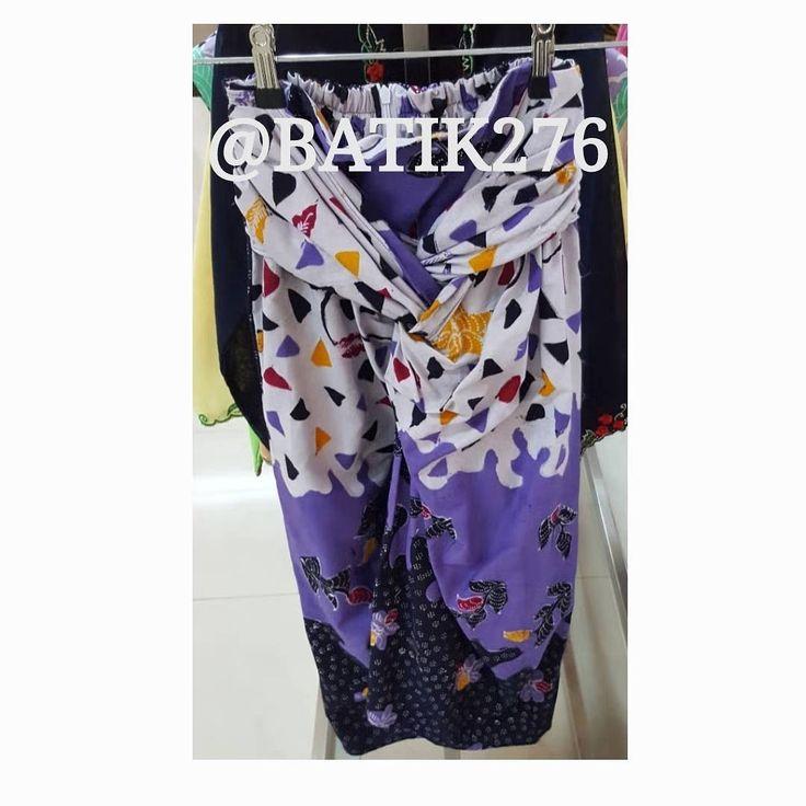Skirt Lily Midi, Batik Tulis