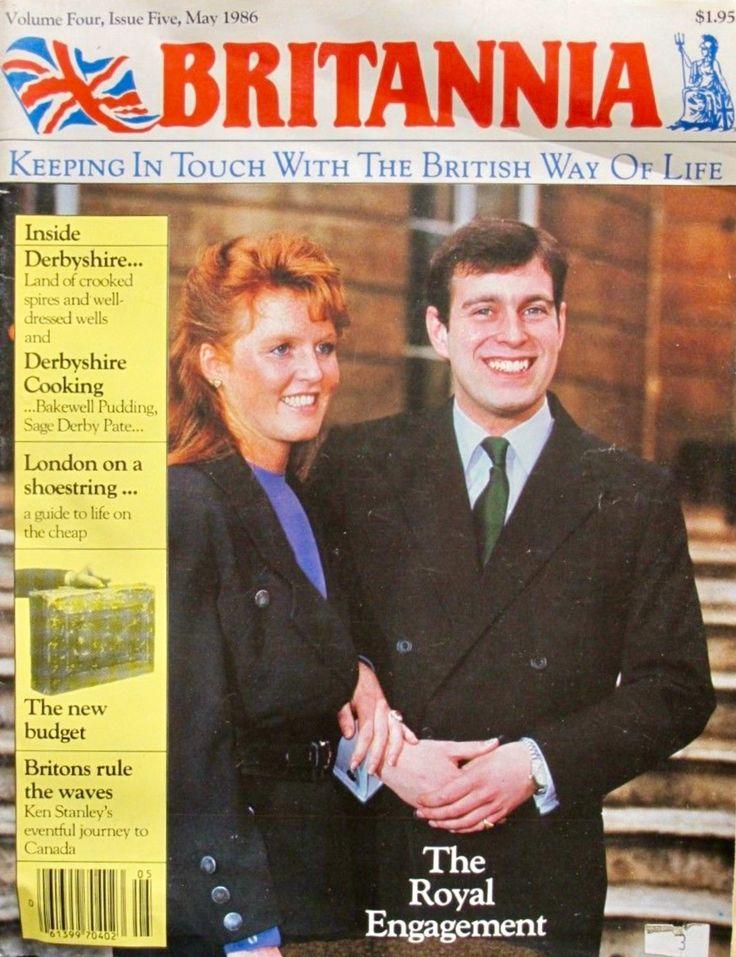 Britannia Magazine May 1986 Fergie & Prince Andrew