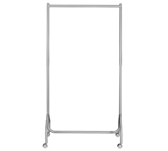 Buy HOME Single Heavy Duty Clothes Rail - White at Argos.co.uk, visit Argos.co.uk to shop online for Hanging rails, Bedroom furniture, Home and garden