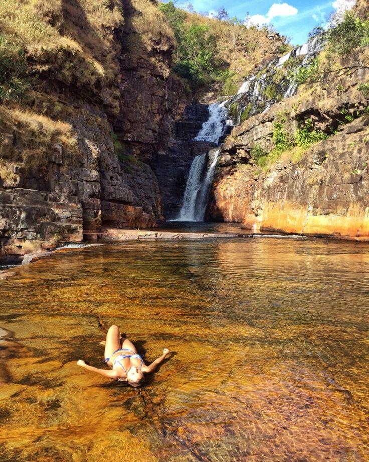 Catarata dos Couros, Alto Paraíso de Goiás - GOIAS - BRASIL