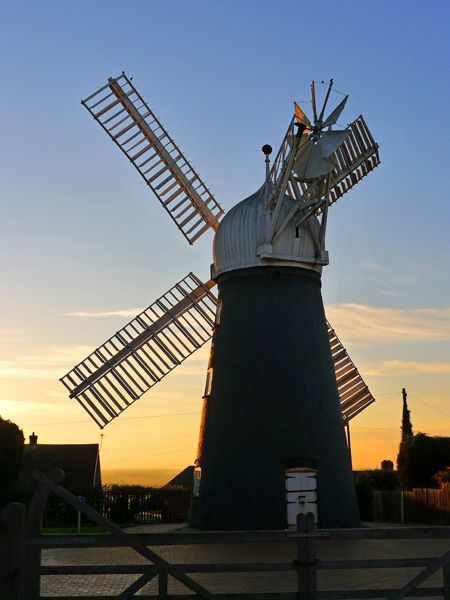 Ellis Mill, near the Museum of Lincolnshire Life