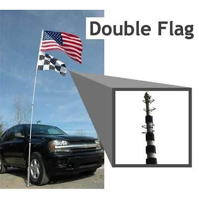 Flagpole to go #fp-18 18 ft. #portable #telescoping flag pole,  View more on the LINK: 	http://www.zeppy.io/product/gb/2/391611604565/