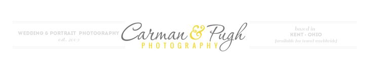Professional Wedding and Portrait Photographer in Cleveland, Akron, Canton logo