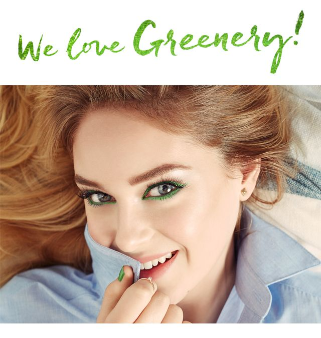 We Love Greenery!